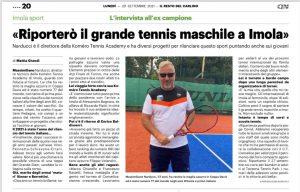 Read more about the article L'intervista all'ex campione